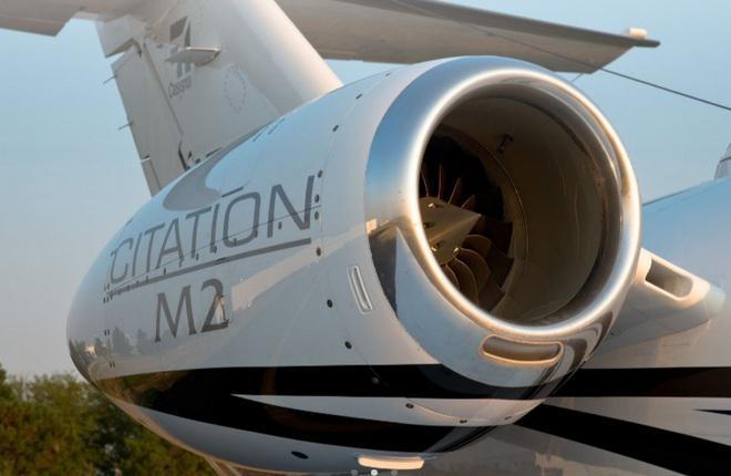 Двигатель легкого бизнес-джета Cessna Citation M