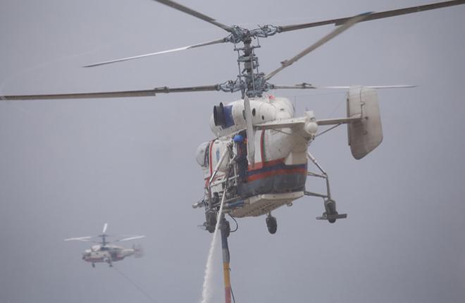 Московский авиационный центр обновит парк вертолетов Ка-32