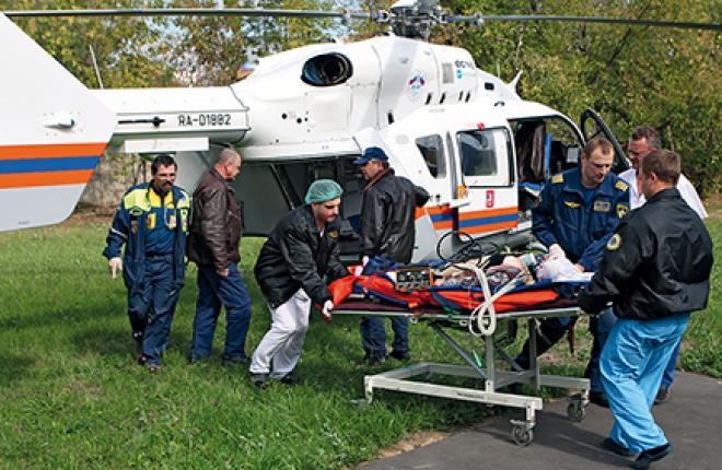 С 2007 года вертолеты вк-117С-2 МАЦ спасли более 3 тыс. человек