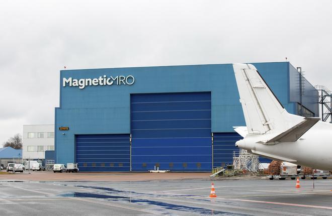 Magnetic MRO hangar