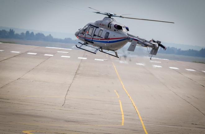 Началась сборка второй партии медицинских вертолетов для ГТЛК
