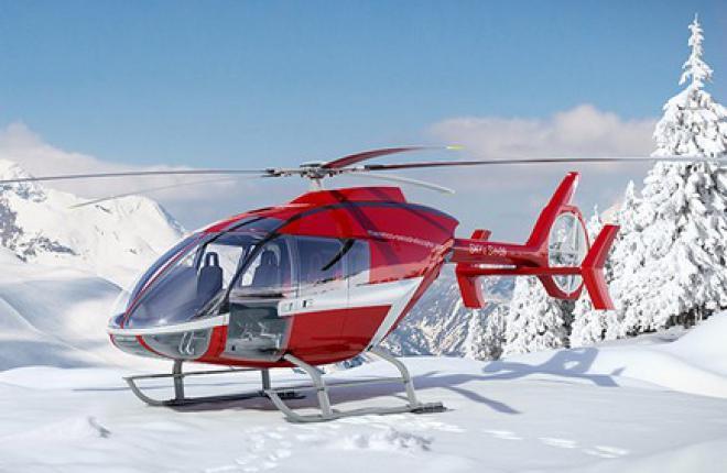 Состоялся первый полет нового легкого вертолета SKYe SH09