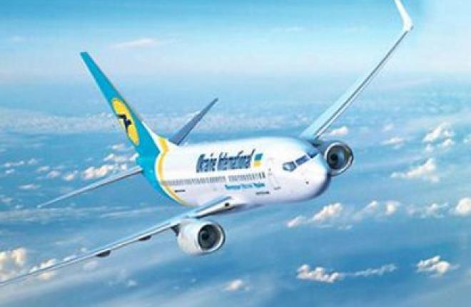 """Авиакомпания """"Международные авиалинии Украины"""" увеличила частоту рейса Киев—Моск"""