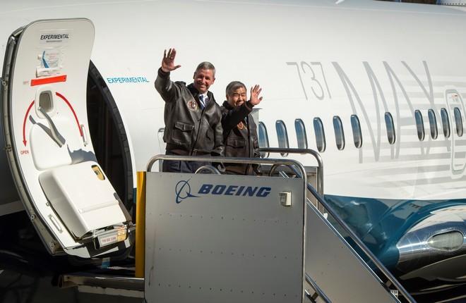 пилоты самолета Boeing 737MAX