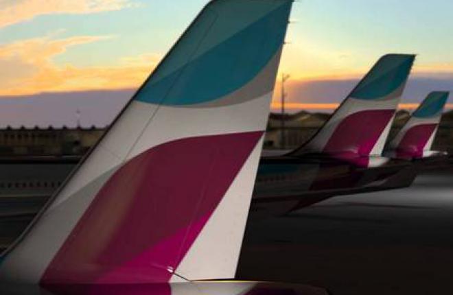 Лоукостер Eurowings полетит из первой базы за пределами Германии в ноябре