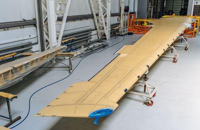 Консоль крыла МС-21 из российских композиционных материалов