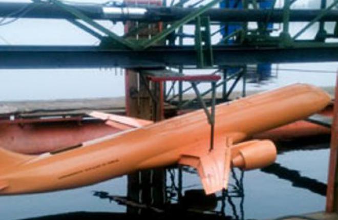 В ЦАГИ испытали модель перспективного пассажирского самолета МС-21