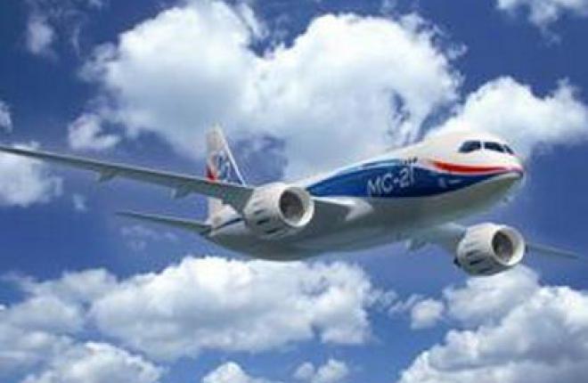 Расходы на создание самолета МС-21 составят 4,5 млрд долларов