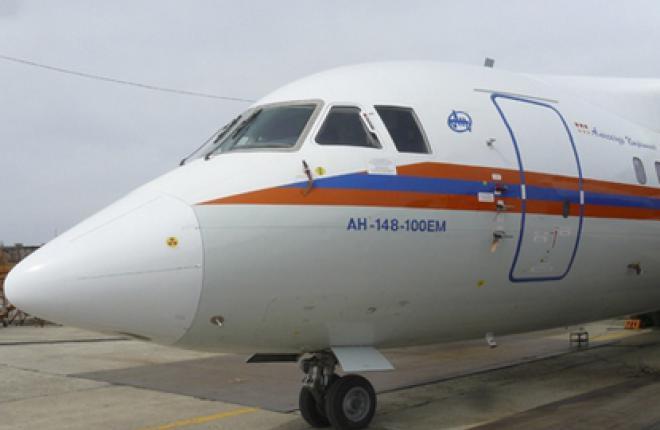 МЧС РФ получило первый самолет Ан-148-100ЕМ