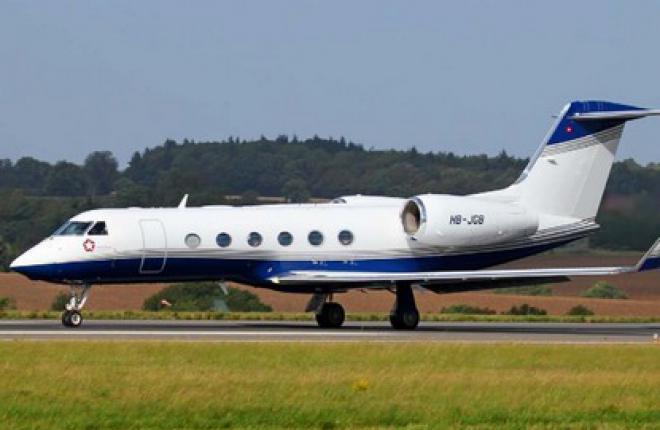 """""""Меридиан"""" выполнила свой первый трансатлантический рейс на самолете G450"""