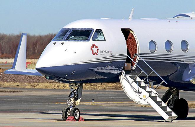 В то время как российский рынок деловой авиации переживал спад, оператор «Меридиан» демонстрировал рост