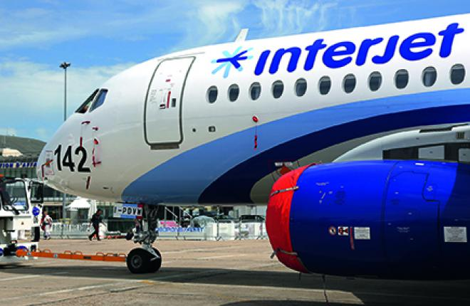 Interjet весьма тщательно подготовилась к эксплуатации самолетов Sukhoi Superjet
