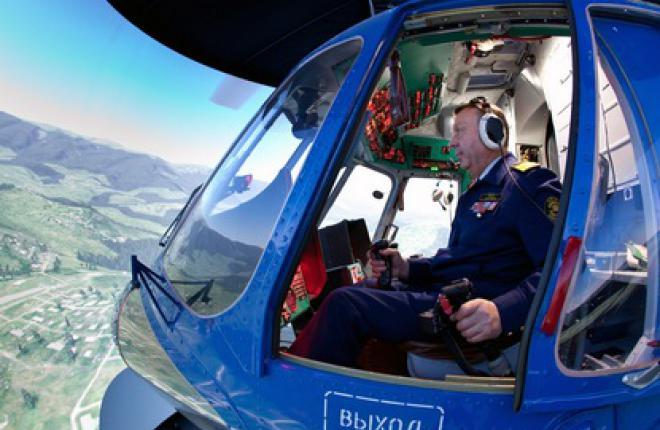 """Тренажер вертолета Ми-171 начал работать в учебном центре """"Улан-удэнского авиаци"""
