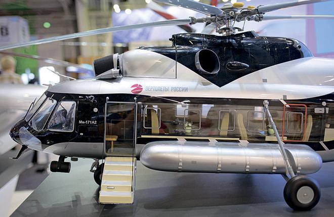 """В """"Вертолетах России"""" рассчитывают, что шельфовую версию Ми-171А2 удастся быстро вывести на рынок"""