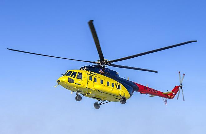 """Вертолет Ми-171А2 авиакомпании """"ЮТэйр — Вертолетные услуги"""""""