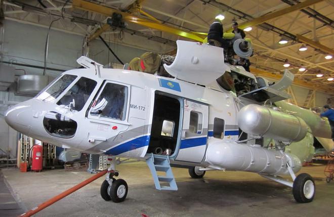 Ремонт вертолета Ми-172