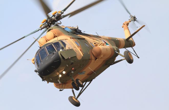 Вертолет Ми-17В-5 в Индии