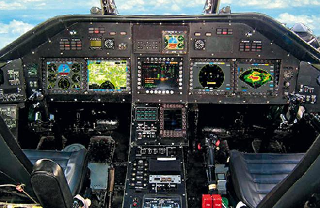 Современное БРЭО Ми-26Т2 позволяет круглосуточно применять вертолет в простых и сложных метеоусловиях