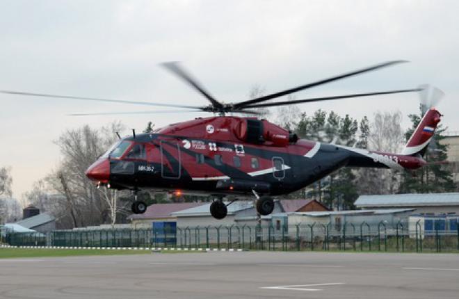 Вертолет Ми-38 с российским двигателями начал летные испытания