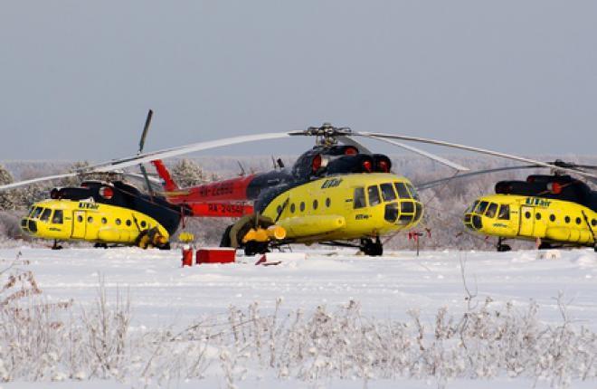 "Приставы изъяли у авиакомпании ""ЮТэйр"" семь вертолетов Ми-8"