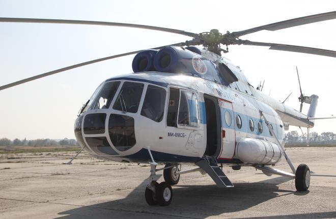 Вертолет Ми-8МСБ установил мировой рекорд по предельной высоте