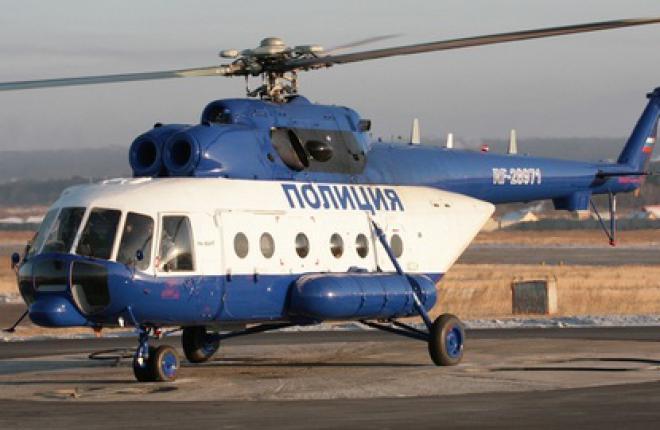 Два вертолета Ми-8АМТ переданы российской полиции