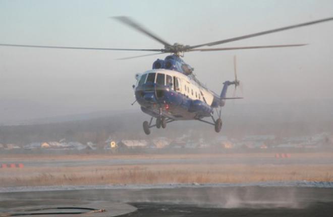 """Холдинг """"Вертолеты России"""" поставит в Алма-Ату вертолет Ми-8АМТ"""