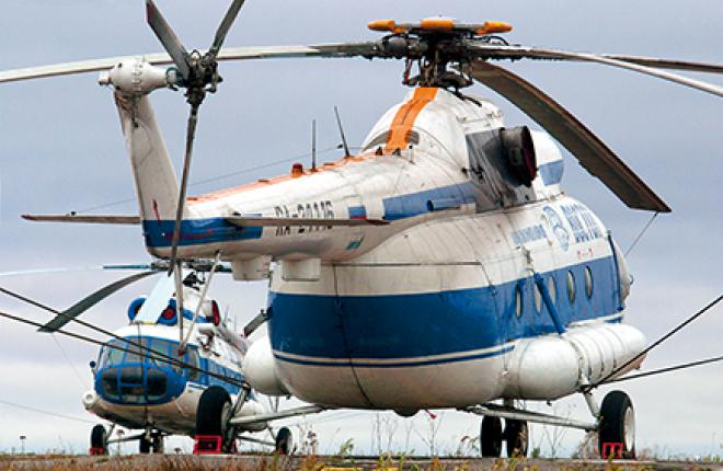 Рейсовые перевозки на вертолетах остаются в прошлом