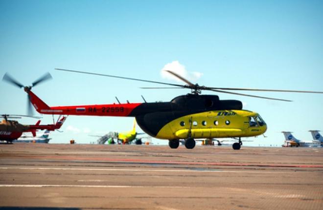 """По иску """"Альфа-Банка"""" арестованы 28 вертолетов """"ЮТэйр"""""""