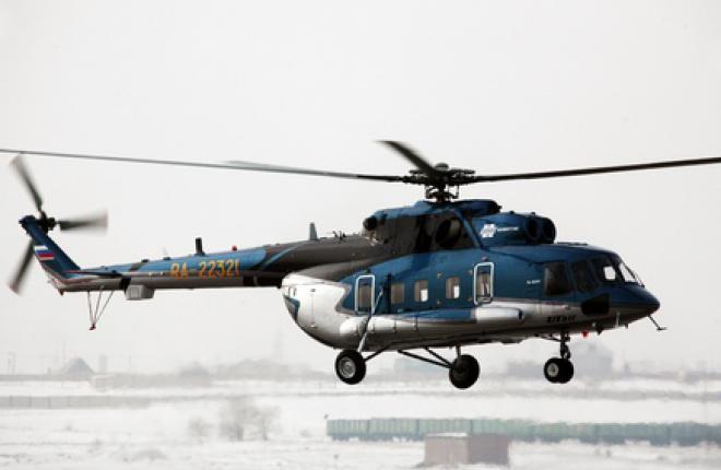"""Авиакомпания """"ЮТэйр"""" вновь получает вертолеты Ми-8АМТ"""