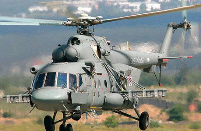 Вертолет Ми-8 готовится к службе в Арктике