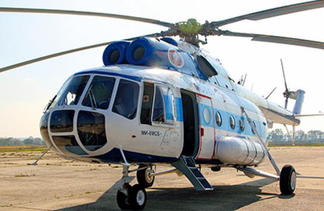 """Вертолет Ми-8МСБ тестируют на """"морозостойкость"""""""
