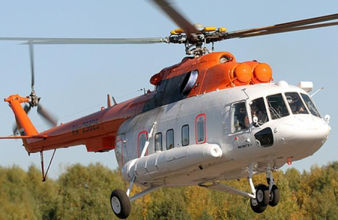 «Вертолеты России» поставят два вертолета Ми-8МТВ-1 на Дальний Восток