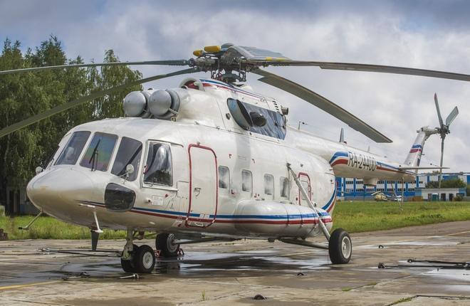 Ми-8МТВ-1 с салоном премиум-класса