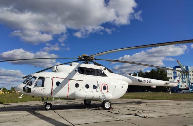 вертолет Ми-8МТВ-1