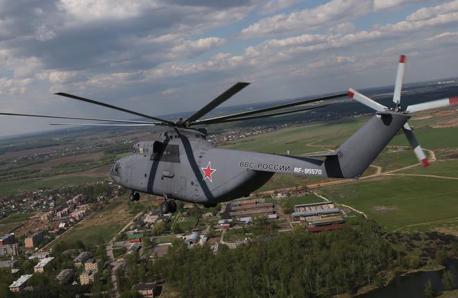 """В """"Вертолетах России"""" уточнили характеристики нового двигателя для Ми-26"""