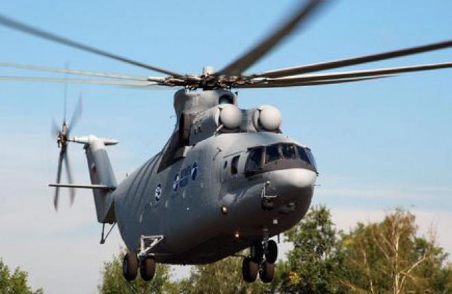 Первым эксплуатантом вертолетов Ми-26Т2 стала алжирская армия