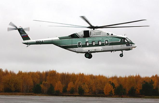 На Казанском вертолетном заводе уже началась сборка первого серийного вертолета установочной серии.