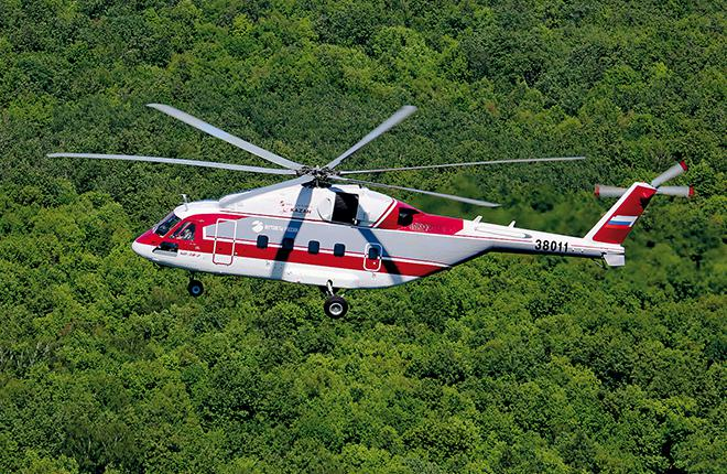 One of the potential candidates for Technodinamika's crash-resistant fuel system is new Mi-38 transport