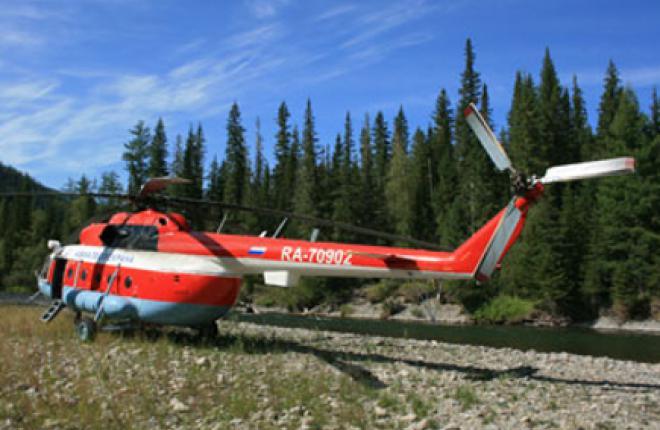 Защитникам алтайских лесов купят новый вертолет Ми-8МТВ-1