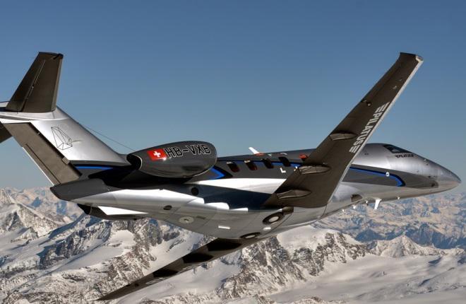 Бизнес-джет Pilatus PC-24 введут в эксплуатацию к концу года
