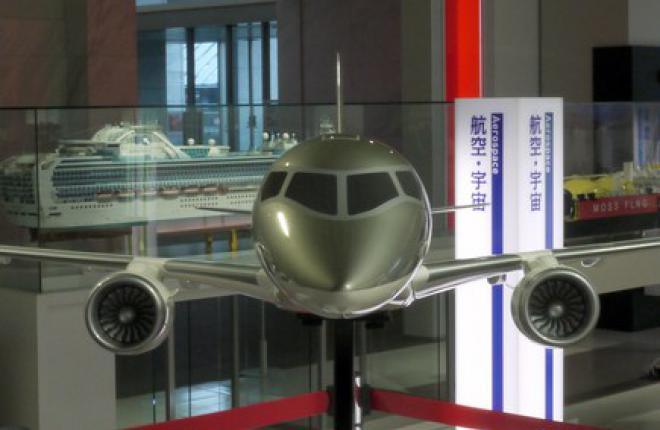 Mitsubishi Aircraft завершила сборку двух первых прототипов самолета MRJ