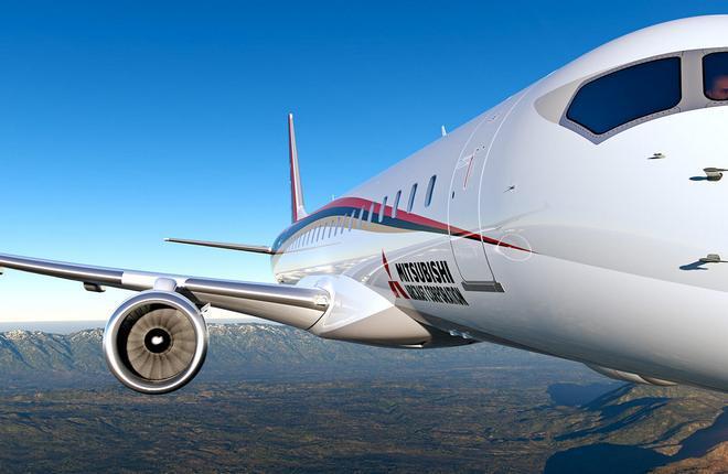 На самолеты MRJ90 получен первый заказ от лизингодателя