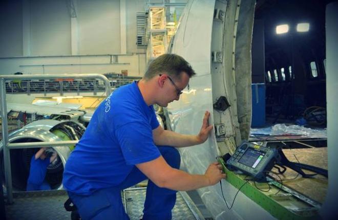 Проведение работ в ангаре Magnetic MRO
