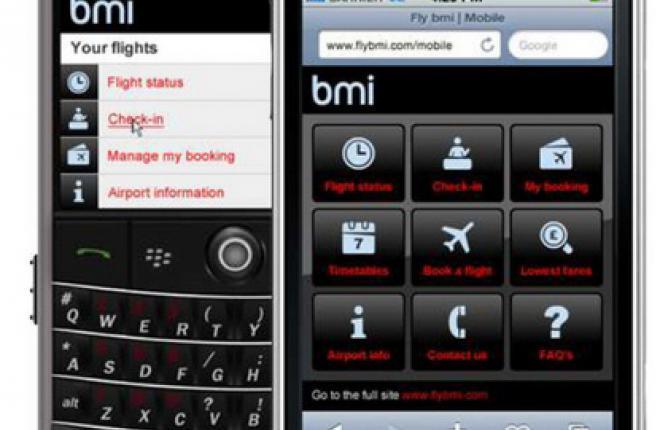 bmi mobile site
