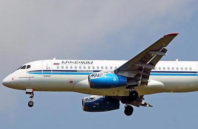 Аэропорт «Белгород» получил допуск на прием самолета Sukhoi Superjet 100