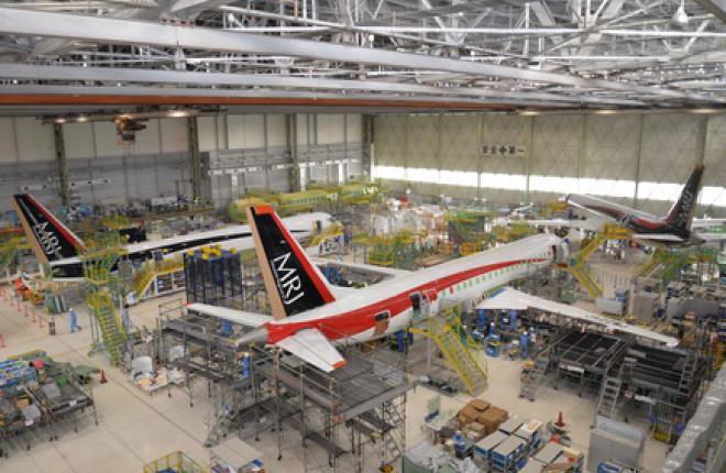 Mitsubishi раскрыла степень готовности летных прототипов MRJ