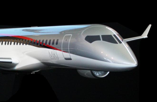 Mitsubishi Aircraft уточнила сроки первого полета MRJ