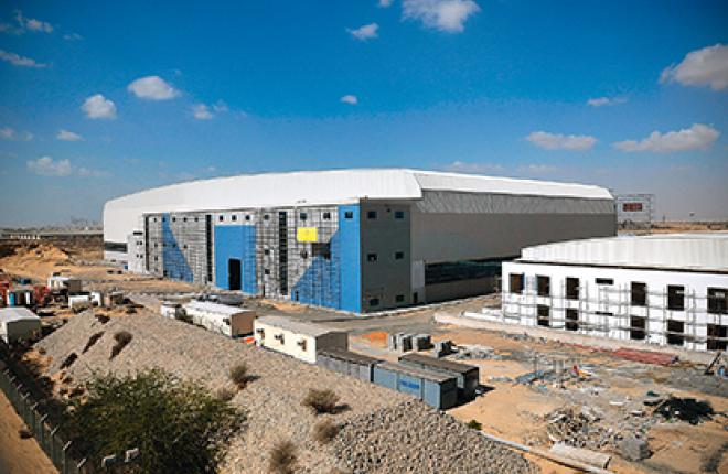 The 20,000-square-meter hangar in Sharjah will become the center for a future mu