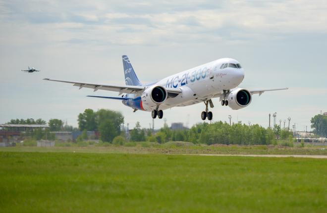 Самолет МС-21-300 оказался дешевле конкурентов от Airbus и Boeing